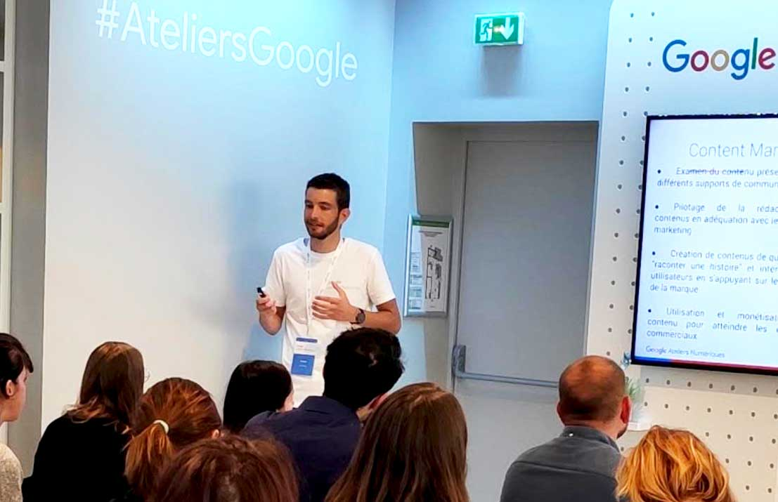Formation Google - Marketing digital