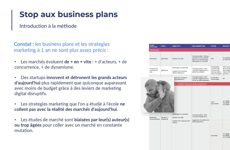 Slide business plan